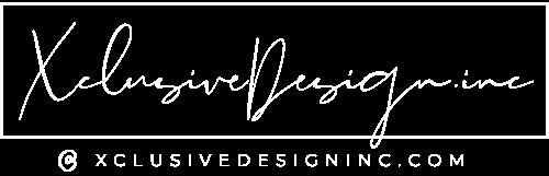 Xclusive design.inc logo
