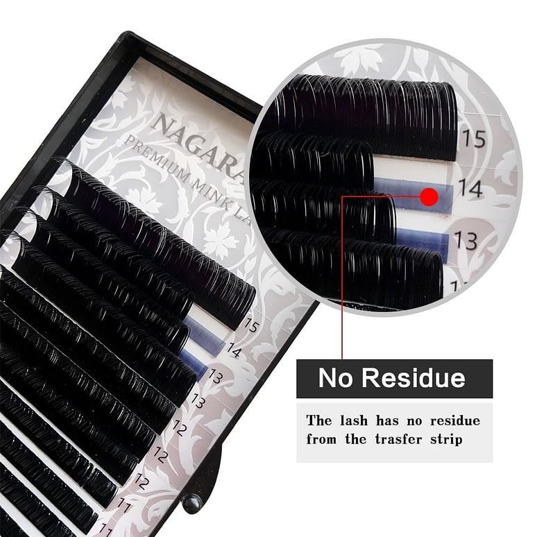 16 Rows Natural Mink Makeup Individual Eyelashes