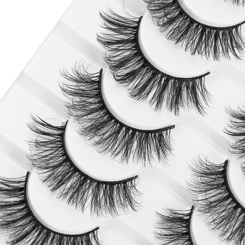 3D Volume Mink Eyelashes Set